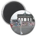 El muro de Berlín Imán Redondo 5 Cm
