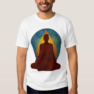 el músculo T de los hombres budistas 12-Step Remera