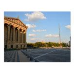 El museo de arte de Philadelphia Postal