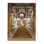 El museo de arte, la escalera, Viena, Austro- Tarjeta Postal