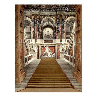 El museo de arte la escalera Viena Austro- Tarjeta Postal