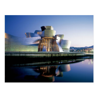 El museo de Guggenheim Bilbao Postal