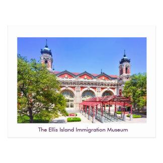El museo de la inmigración de la isla de Ellis Postales