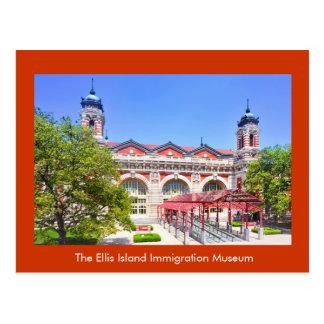 El museo de la inmigración de la isla de Ellis Tarjetas Postales