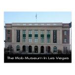 El museo de la multitud en Las Vegas Tarjeta Postal