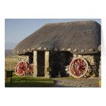 El museo de Skye de la vida de la isla, cerca de D Tarjetón