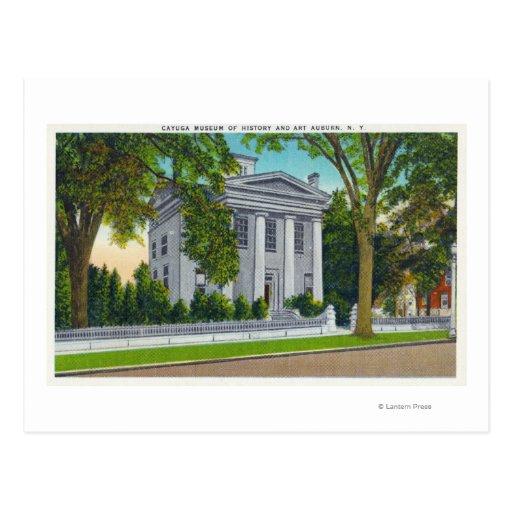 El museo del Cayuga de la historia y del arte Postales