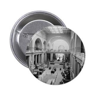 El museo egipcio (interior) circa 1934 pins