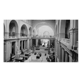 El museo egipcio (interior) circa 1934 tarjetas de visita