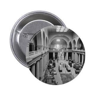 El museo egipcio. Interior de Pasillo principal c. Pin