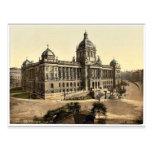 El museo, Praga, Bohemia, Austro-Hungría magnifice Tarjetas Postales