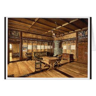 El museo, sitio gótico, vinta de Zurich, Suiza Tarjetón