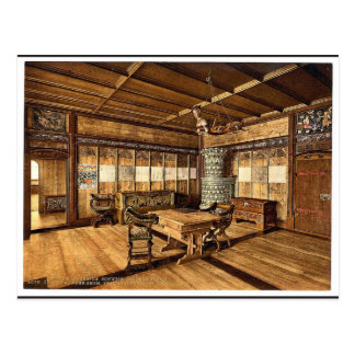 El museo, sitio gótico, vinta de Zurich, Suiza Postal