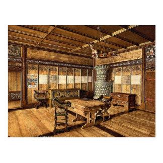 El museo, sitio gótico, vinta de Zurich, Suiza Tarjetas Postales