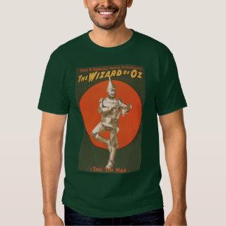 El Musical de mago de Oz - el hombre de la lata Camisas