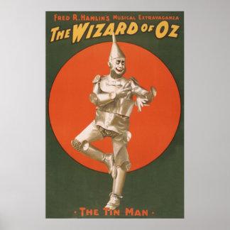 El Musical de mago de Oz - el hombre de la lata Póster