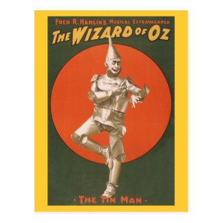 El Musical de mago de Oz - el hombre de la lata Tarjetas Postales