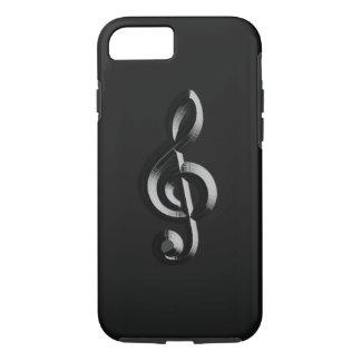 El musical del piano graba en relieve funda iPhone 7