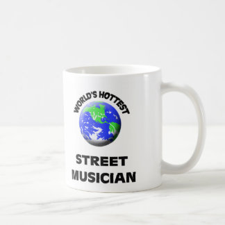 El músico más caliente de la calle del mundo taza de café