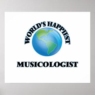El musicólogo más feliz del mundo póster
