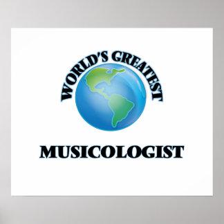 El musicólogo más grande del mundo posters