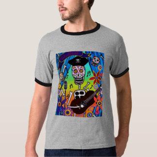 EL MUSIKERO  -Dia de los Muertos T-Shirt