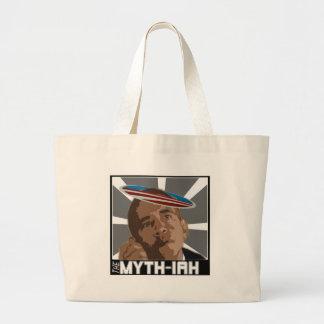 El MYTH-IAH OBAMA (SÁTIRA de las MESÍAS) Bolsa De Mano