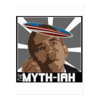 El MYTH-IAH OBAMA (SÁTIRA de las MESÍAS) Tarjetas Postales
