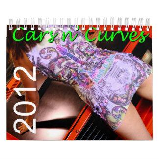 El n de los coches curva el calendario 2012