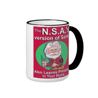 El N.S.A. Version de Santa Taza