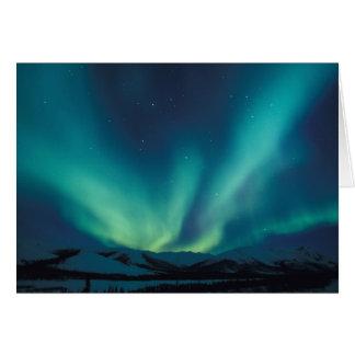 El NA, los E.E.U.U., Alaska, arroyos se extiende,  Tarjeta De Felicitación