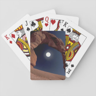 El NA, los E.E.U.U., Utah, arquea el parque nacion Cartas De Póquer