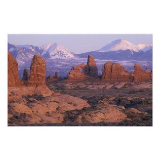 El NA los E E U U Utah arquea el parque nacion Fotografia