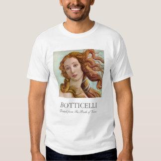 El nacimiento de Botticelli de Venus Camisas