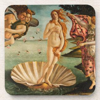 El nacimiento de Botticelli de Venus Posavasos
