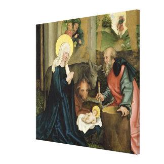 El nacimiento de Cristo Impresion De Lienzo