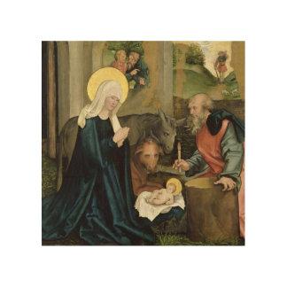 El nacimiento de Cristo Impresiones En Madera