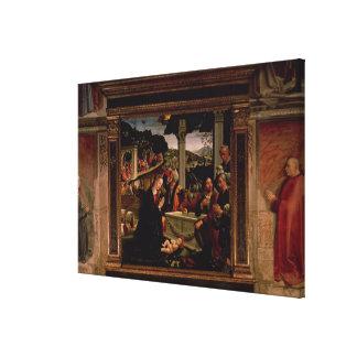 El nacimiento de Cristo Lienzo Envuelto Para Galerías