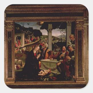 El nacimiento de Cristo Colcomanias Cuadradases
