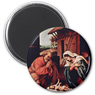 El nacimiento de Cristo por la loteria Lorenzo (la Iman De Frigorífico