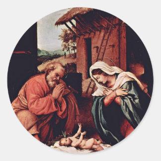 El nacimiento de Cristo por la loteria Lorenzo la Pegatina