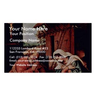El nacimiento de Cristo por la loteria Lorenzo (la Tarjeta De Negocio