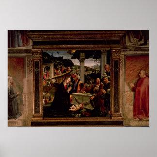 El nacimiento de Cristo Póster