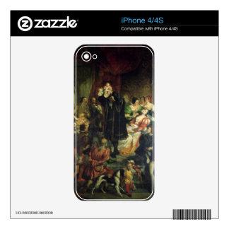 El nacimiento de Enrique IV (1553-1610) en el cast iPhone 4S Skin