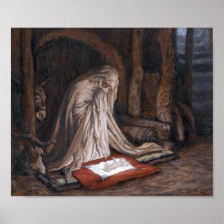 """El nacimiento de James Tissot """"de nuestro señor Je Póster"""