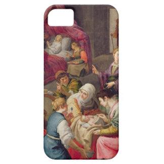 El nacimiento de la Virgen, 1640 (aceite en lona) Funda Para iPhone SE/5/5s