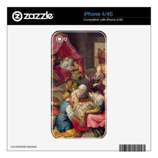 El nacimiento de la Virgen, 1640 (aceite en lona) iPhone 4S Skin