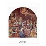 El nacimiento de Maria de Guido Reni Postal