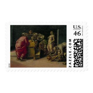 El nacimiento de St. John el baptista (aceite en e