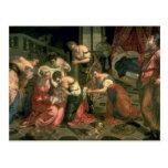 El nacimiento de St. John el Bautista, 1550-59 Tarjeta Postal